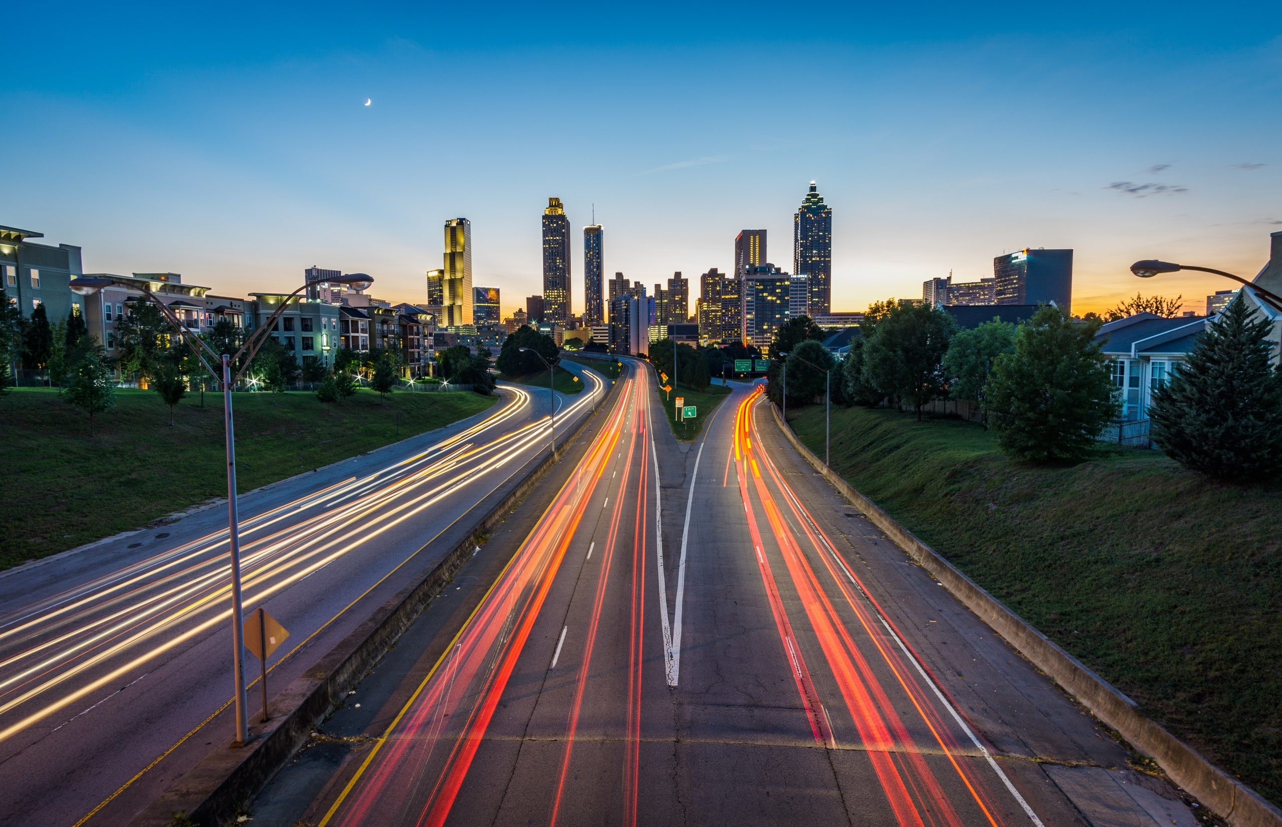 atlanta highway lights